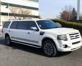 6 PASS WHITE FORD EXPEDITION LIMO